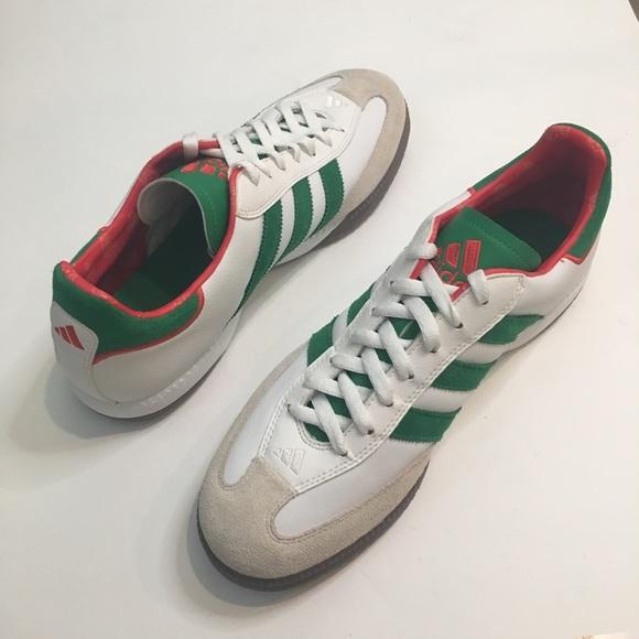 Adidas Samba Millennium Mexico Futbol Soccer Shoes
